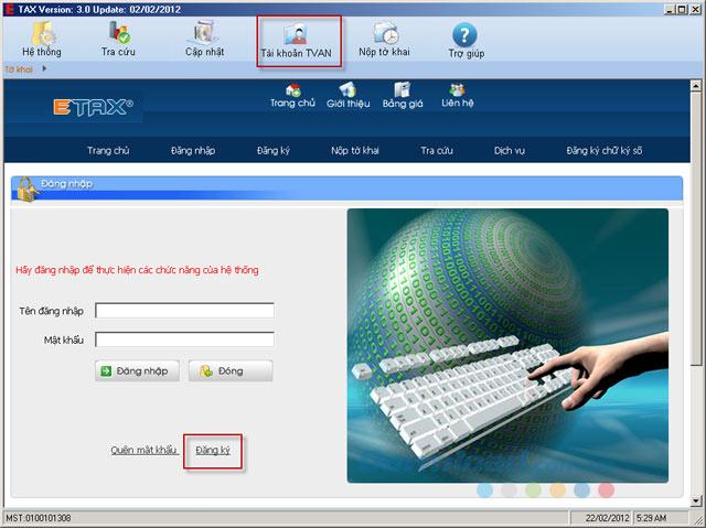 phần mềm khai báo thuế mới nhất
