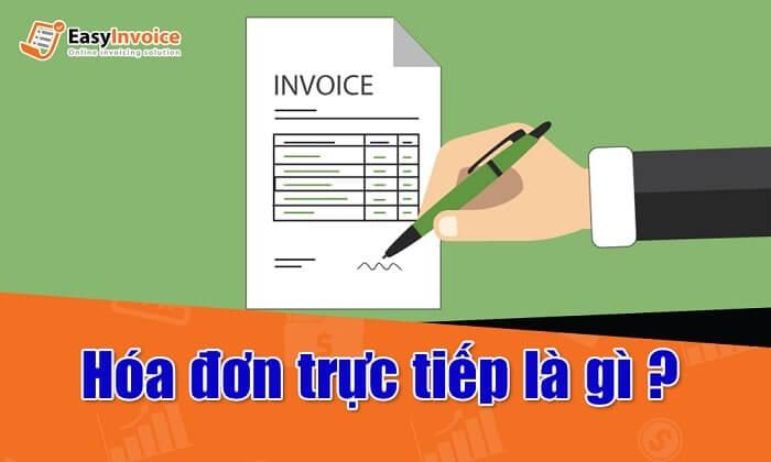 hóa đơn trực tiếp có phải kê khai thuế không