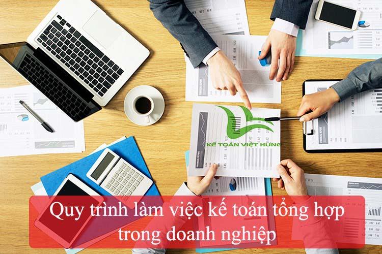quy trình kế toán