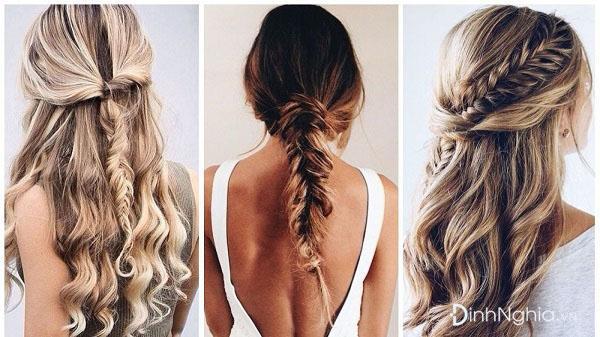 các kiểu tết tóc đẹp nhất đầy mềm mại