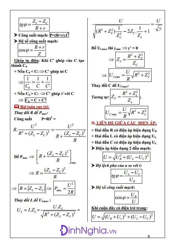 công thức vật lý 12 hình anh 8