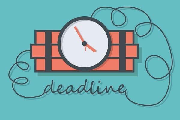 Deadline giúp tăng hiệu quả công việc, tác dụng của deadline