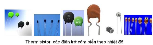 điện trở nhiệt ntc là gì và một số loại điện trở
