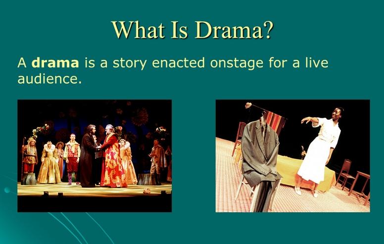 Drama có nguồn gốc từ Hy Lạp
