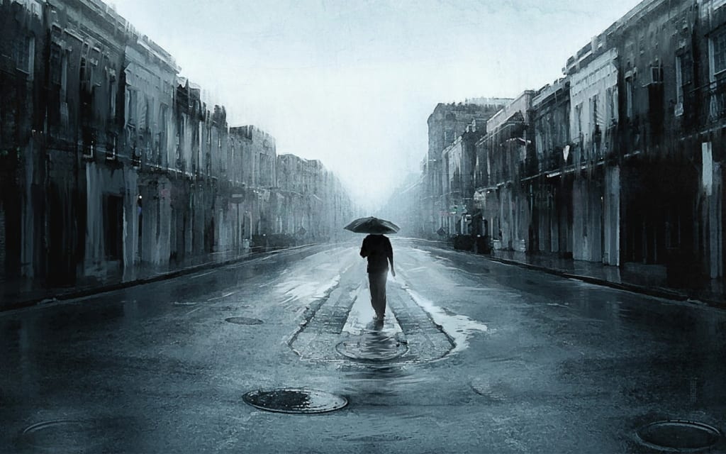 Hình ảnh con trai khi buồn và cô đơn