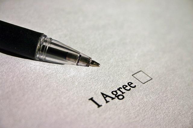Hợp đồng được chấp nhận khi đúng điều kiện pháp luật đưa ra