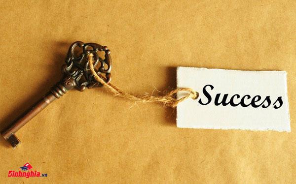 khái niệm thành công là gì khi nghị luận về thành công