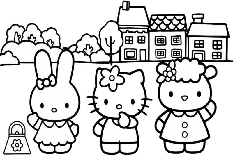 kitty và những người bạn