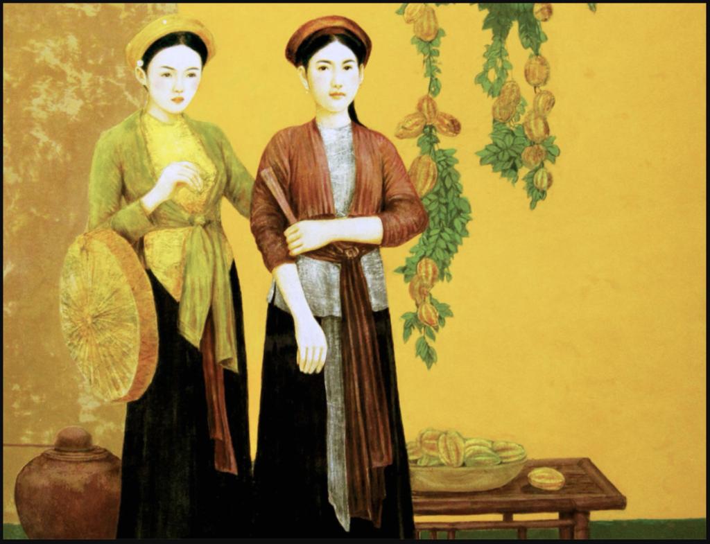 Lịch sử ra đời của áo tứ thân