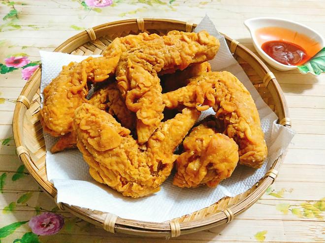 Món gà rán thơm ngon và hấp dẫn