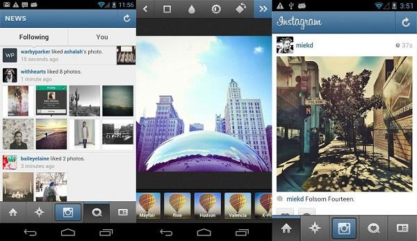 Phần mềm chỉnh sửa ảnh instagram cũng rất đẹp