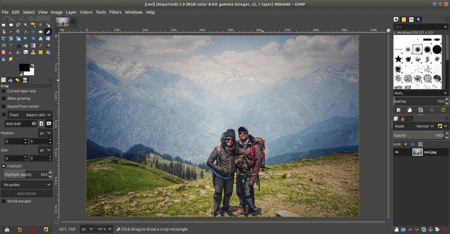 Phần mềm GIMP hoạt động được trên cả 3 hệ điều hành: Mac, Windows và Linux