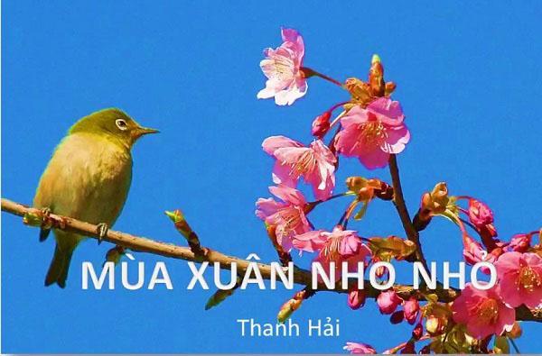 phân tích bài thơ mùa xuân nho nhỏ và hình ảnh minh họa
