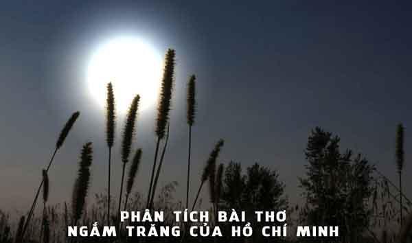 phân tích bài thơ ngắm trăng qua phong thái ung dung của bác