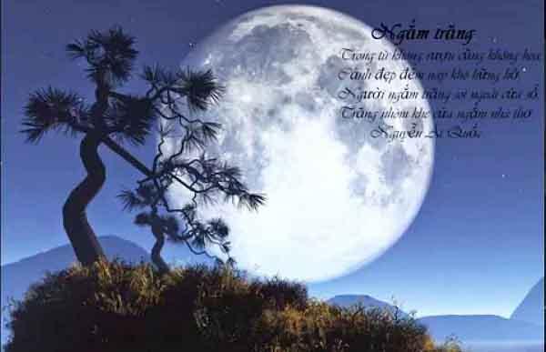 phân tích bài thơ ngắm trăng và hoàn cảnh ngắm trăng đặc biệt của bác
