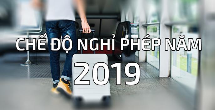 Quy định về chế độ nghỉ phép 2019