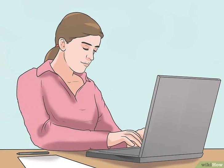 Sử dụng máy tính để ghi chép, lưu trữ thông tin của cuộc họp