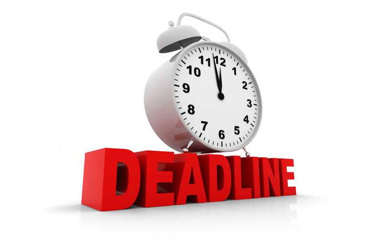 Tầm quan trọng của deadline, tác dụng của deadline trong công việc