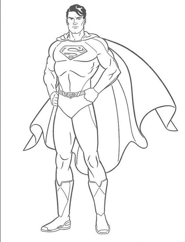 Tạo hình của siêu nhân superman