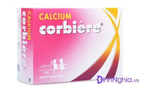 tìm hiểu calcium corbiere là thuốc gì