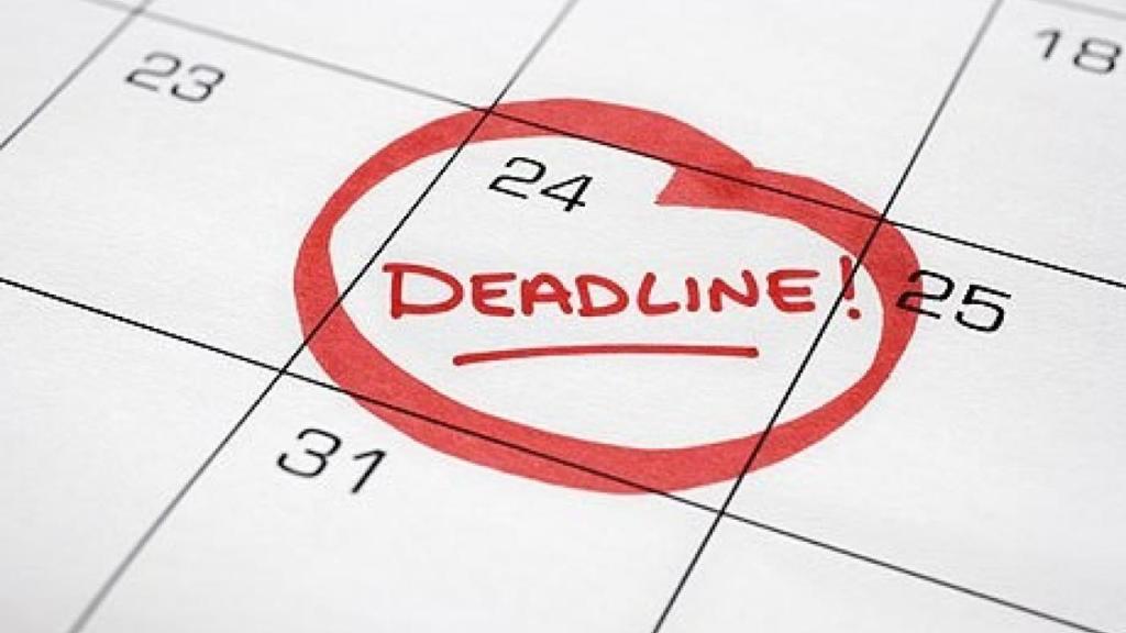 Vai trò của deadline rất quan trọng