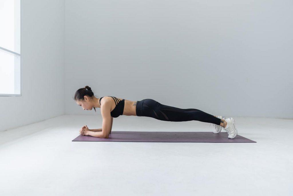 Mô tả động tác Plank